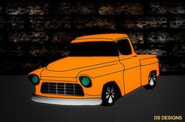 Late Nineties Ford Hemi TRuck HOT ROD