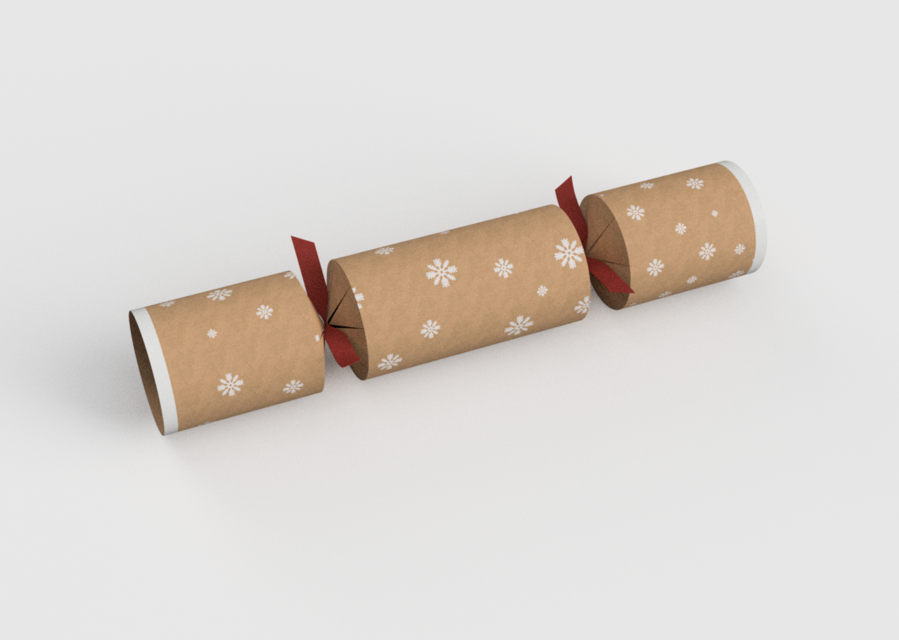 Christmas Crackers Png.Christmas Cracker 3d Cad Model Library Grabcad