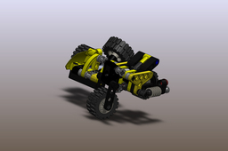 Lego Motorcycle with sidecar