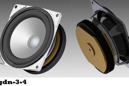 25gdn-3-4 Loudspeakers
