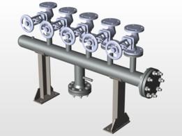 steam header diameter 4 inch pressure 20 barg
