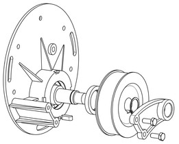 Clone of an electric Scooter Gearbox