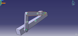 Slider Crank Mechanism Using CATIA V5