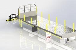 Tray Body C/w Crane