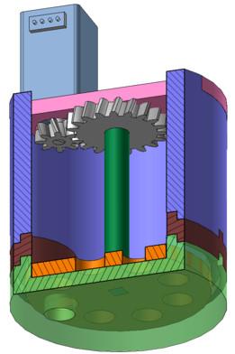 Aquarium recent models grabcad cad library for Fish tank auto feeder