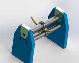 matriz para calandrar tubos/matrix for mangling tubes