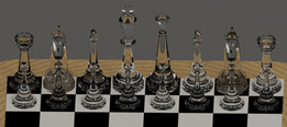 Chess Board and Coins