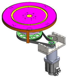 INDEXER WITH SERVO MOTOR