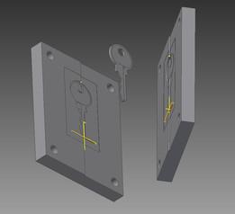Key for standar lock