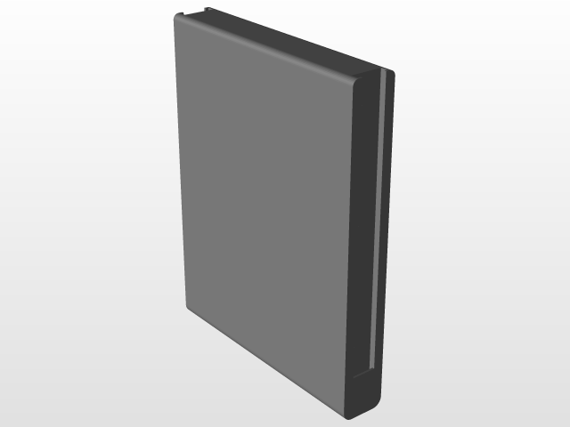 Nintendo Switch Joycon Grip | 3D CAD Model Library | GrabCAD