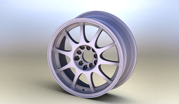16x7 Enkei J10 WHEEL