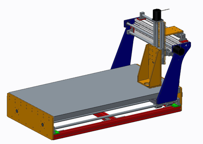 3 axis CNC machine