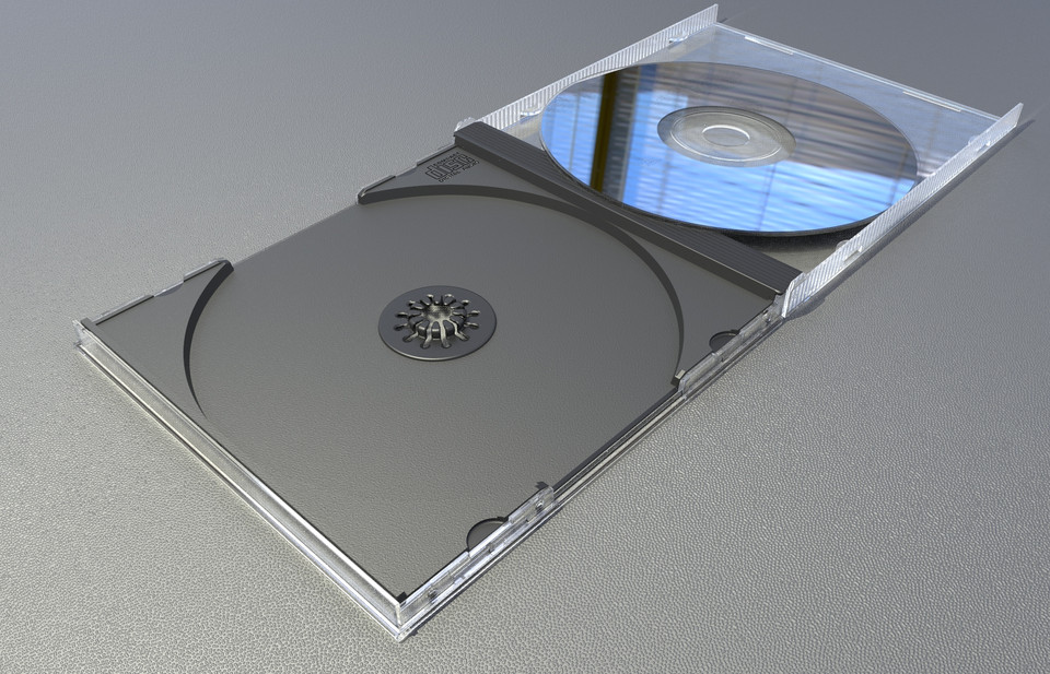 cd case 3d cad model library grabcad