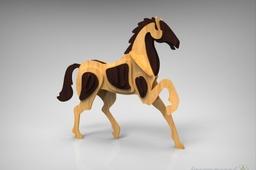 Horse Woodcraft