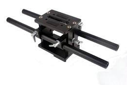 DSLR Rig 15mm Rod Baseplate Mount Rail Support For Follow Focus Mattebox 5D2 5D3