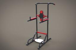 Fitness Equipment - Dip/Push-Pullup Station