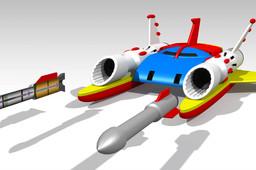 JEEG Spaceship ZPRO-02 Big Shooter