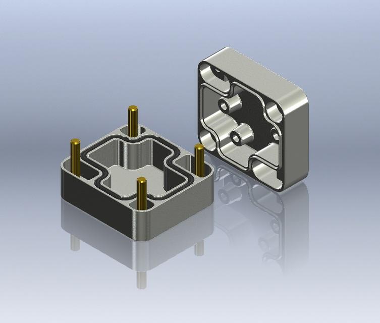 30 x 50 x 45 Die Cast Aluminium Box IP66 RS 506-902 | 3D CAD