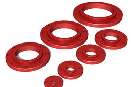 3D Slip On Flanges