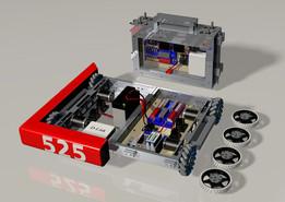 Suitcase Bot   525 - Swartdogs