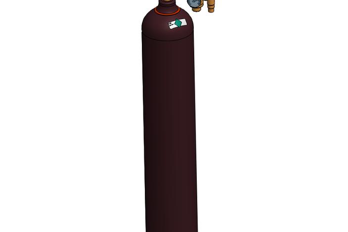 Helium Gas Bottle Helium k Gas Bottle/cylinder