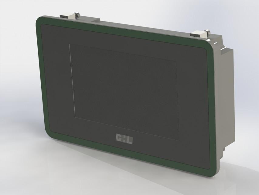 3D print case cabinet nextion 5