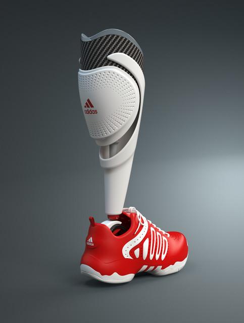 4b661e74aafc adidas prosthetic leg