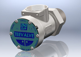 TeeValve Электромагнитный клапан DG Flow