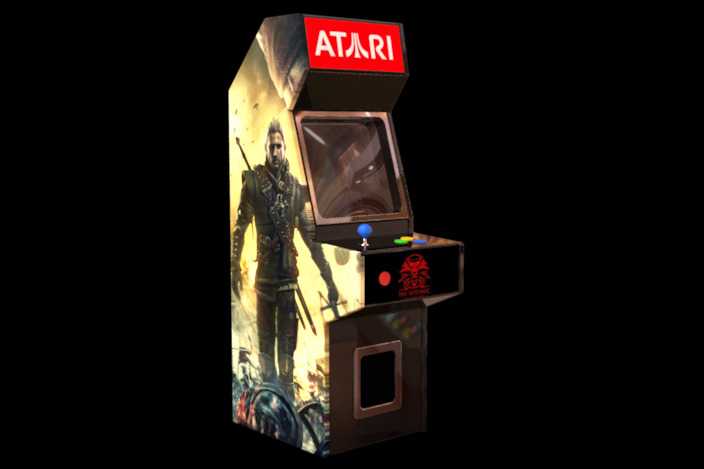 Arcade cabinet single player