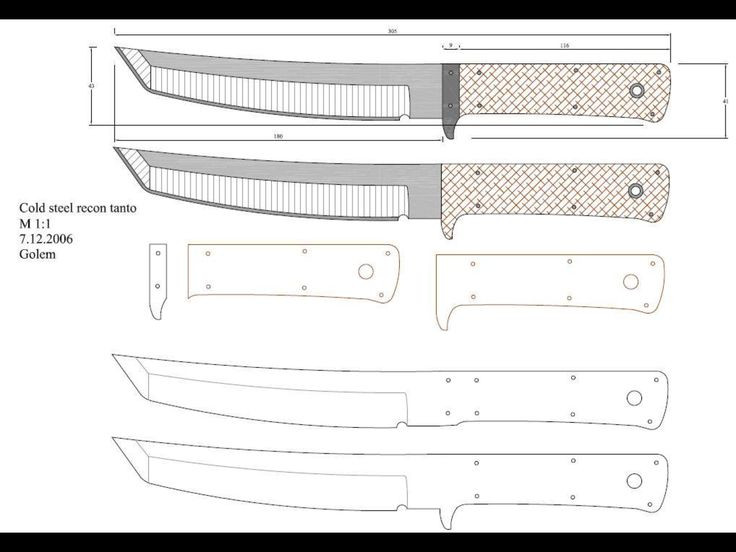 It is a graphic of Printable Knife Templates with regard to fantasy knife
