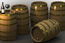 Wooden Wine Barrel / Oak