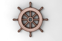 sailboat steering wheel