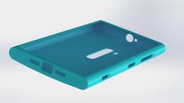 Nokia Lumia 920 Case. 100% scale.