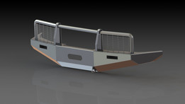 Metallic bumper