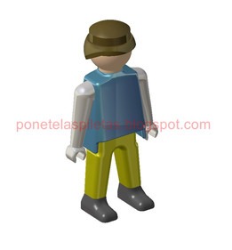 Playmobil very detailed CATIA v5 R21