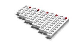 Power distributor 4-8 polig