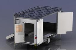 multipurpose trailer caravan ( gc office challenges )