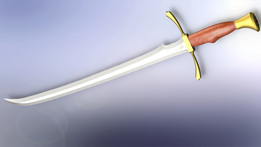 Wheel of Time Heron Mark Sword