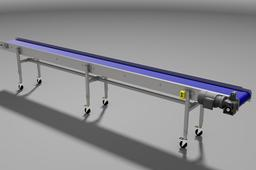 Easy made Modular belt Conveyor -telescopic and mobile