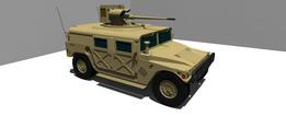 Humvee M242 Bushmaster