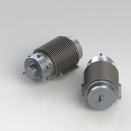 CRK EV9000-BL6 60 kW Electric Motor
