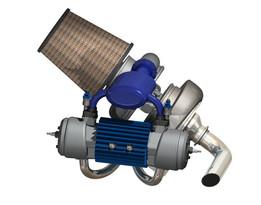 Free-piston 250cc Genset