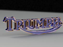 3D Triumph Logo