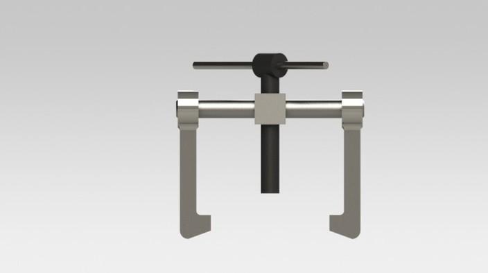 Bearing Puller Cad : Bearing pullers v??nt?ty?kalut lageravdragare