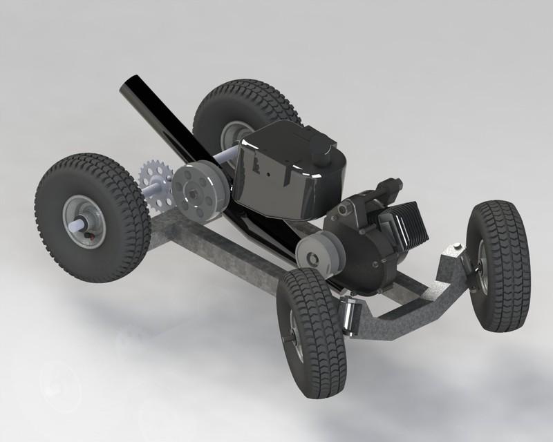 Go Kart Cad Model download