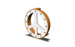 Hippie emblem for Volkswagen Transporter T4