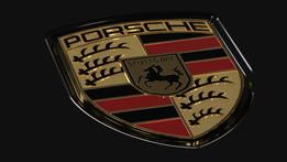 Porsche Hood Badge