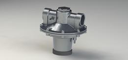 Valve air/gas ratio controls GIK40 krom schroder