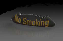 No Smoking Reminder