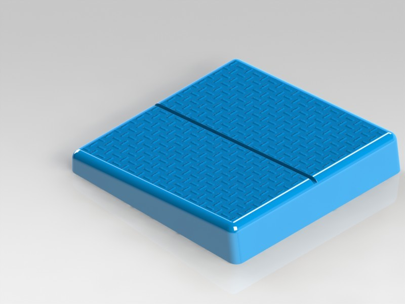 Starting Block for Swimming pool | 3D CAD Model Library